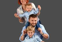 Photographe famille Lyon / Séance photo en famille à Lyon - Shooting photo portrait d'enfants avec papa et maman - Family Photography