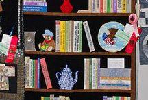 Bücherregal Quilts