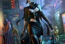 Shadowrun - female - runers