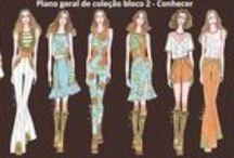 fashion design-Auri Moraes / Fotos que estão publicadas no blog : http://auridesenhosdemoda.blogspot.com.br/