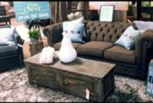 Sofas & Sectionals / High end stylish sofas and sectionals and living room decor.