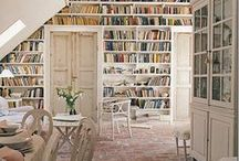 A book lover's home