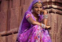 Tribal jewelry on women