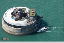 Spitbank Fort / Home to our Wedding Venue -Sept '13