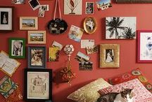wall, pictures and color