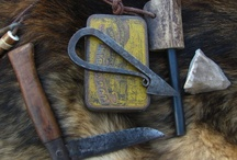Beautiful and functional / Traditional bushcraft kit