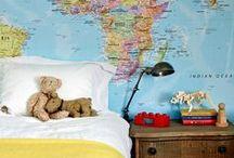 Pour les enfants / Decoration for kids rooms. Decoração de quartos de criança. / by Carol Dib