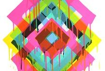 PRINTSPIRATION / print // pattern // textile design // surface design // design // trend // color // inspiration // graphic design // woodblock // mud cloth // shibori // batik // geometric