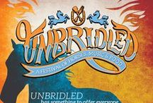 Official Unbridled 2014 Artwork / Official art for Unbridled 2014 / by Unbridled Festival of Horses, Music and Food
