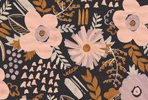 FLORALS / floral pattern // print // inspiration // textile design // design // graphic design // fashion // trend // colour