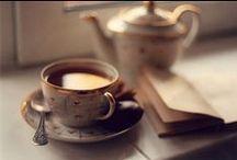 kávé, tea és könyv