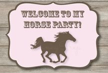 9th Horse Party Ideas