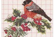 Embroidery - Вышивание / Patterns, ideas for embroidery. Узоры, идеи для вышивания.