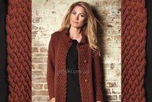 Knitting cardigans and coats - Кардиганы, пальто спицами / Knitting - Вязание спицами