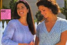 Crochet and knitting for women - Вязание для женщин / Crochet and knitting: sundresses, tunics, sweaters and so on - Вязание крючком и спицами: платья, сарафаны, туники, свитера и прочее