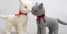 Amigurumi / Crochet and knitting jewelry, toys- Вязание крючком и спицами украшений, игрушек