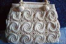 Crochet and knitting bags - Вязаные сумки / Crochet and knitting - Вязание крючком и спицами