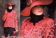 Irish lace - Ирландское кружево / Crochet - Вязание крючком