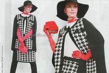 Jacquard patterns - Жаккардовые узоры / Multicolor knitting - Многоцветное вязание спицами.