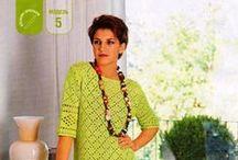 Filet crochet - Филейное вязание / Crochet - Вязание крючком
