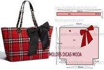 Patterns bags - Выкройки сумок / Sewing - Шитье