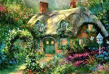 Tiny Houses - Маленькие дома / A comfortable and cozy life in a small house - Комфортная и уютная жизнь в маленьком доме