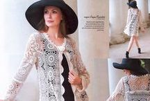Crochet cardigans, coats, jackets - Кардиганы, пальто, жакеты крючком / Crochet - Вязание крючком