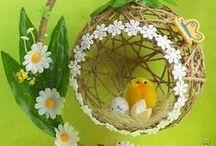 Easter - Пасха / Easter decorations, recipes and presents - Пасхальные украшения, кулинарные рецепты и подарки