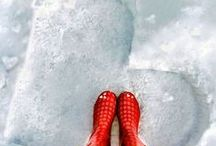 Let it snow ❄❅ / instagram.com/loquetedigalarubia/