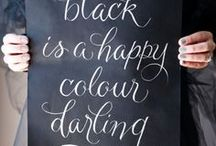 BLACK IS A HAPPY COLOR / instagram.com/loquetedigalarubia/