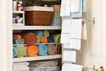Organization / Articles about organizing, decluttering, storing, and cleaning the house.
