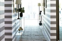 Stripes / Stripes! Walls, floors, curtains...