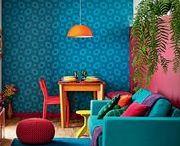 Ambientes coloridos / Procurando ambientes alegres e coloridos?! Selecionamos os melhores diariamente para vocês, com muito amor e carinho. Vamos colorir o mundo juntos?! Gratidão!!!