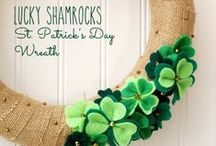 St. Patrick's Day / All things St. Patty's Day! The luck of the Irish is strong-perfect for any Irish-themed celebration!