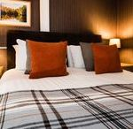 Double Room With View - Room No.1 Derrybeg B&B Pitlochry / Pictures of Double room No.1 first floor Derrybeg Bed and Breakfast #Pitlochry