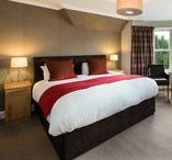 Large Double Room With View - Room No.2 Derrybeg B&B Pitlochry / Pictures of twin room No.2 first floor Derrybeg Bed and Breakfast Pitlochry