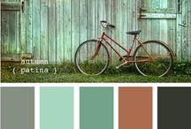 Kleurinspiratie / Handig om de juiste kleuren bij elkaar te zoeken