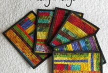 Mug Rugs / Fun, fast, and easy to make.  Great gifts!