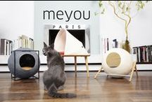 Classy Cat bed and scratcher / Classy cat bed and scratcher by Meyou