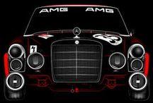 Mercedes-Benz Ads/Art / Mercedes-Benz posters and artwork.