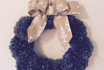 Tomtillyboo / Homemade Christmas decor selling on etsy!