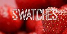 Swatches / Dekorative Kosmetik