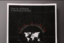 Print // Infographies & visualisations de données / Consommation, développement durable, numérique... prenez le temps de découvrir toutes les visualisations de données print et les infographies de 10h11 !