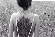 Tattoo & Piercings / Bohemian style / by Lotte Andringa
