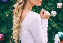 Hair / Coiffures et styles qui me plaisent