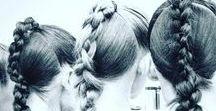 Hair work