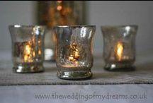 Tea Light and Candle Holders / TEA LIGHTS, VOTIVES, CANDLE HOLDERS
