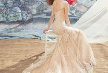 Wedding Dresses: Lace / Lace is one of the most popular wedding dress fabrics. It is soft, romantic, and beautiful. Choosing a lace wedding dress is the perfect decision for many brides.