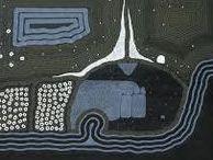 ART - Aboriginal 3 BLUE