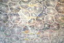 ART - aboriginal 5 muted colours